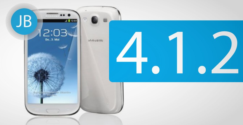 Android 4.1.2 Jelly Bean Update fuer Samsung Galaxy S3 LTE