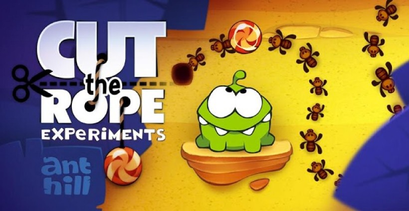 Amazon Gratis App des Tages: Cut the Rope Experiments