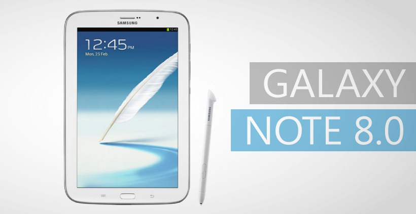 Samsung Galaxy Note 8.0: Android 4.2.2 Update [XXCMH1]