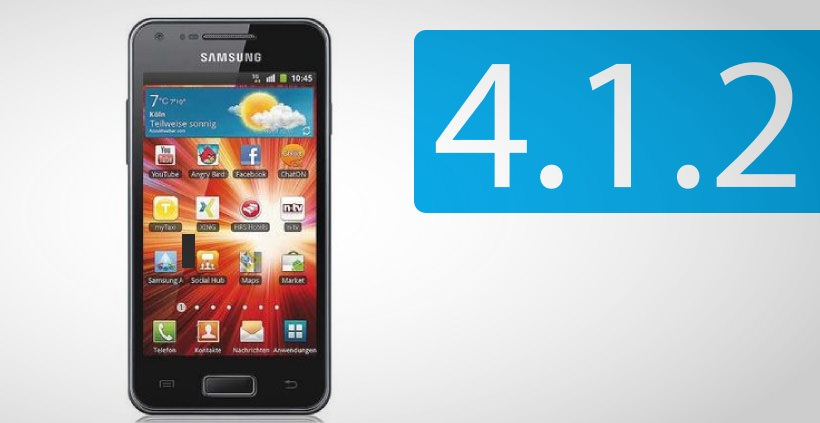 Samsung Galaxy S Advance: Android Jelly Bean Update in Deutschland verfügbar