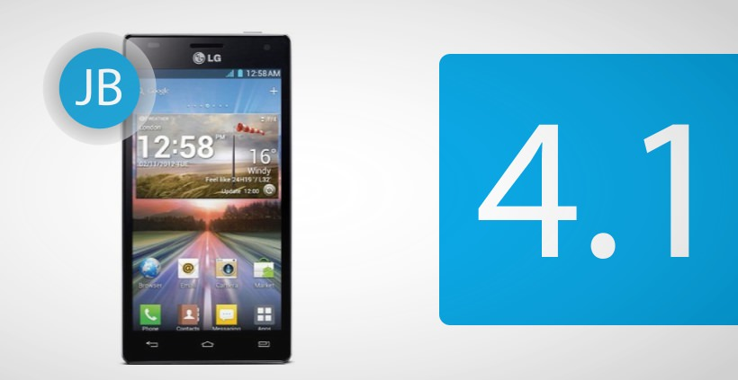 LG Optimus 4X HD bekommt Android Jelly Bean Update