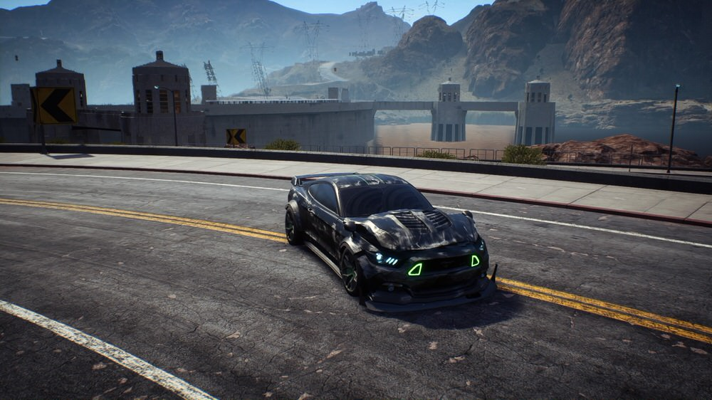 Need for Speed Payback - Mustang GT beschädigt