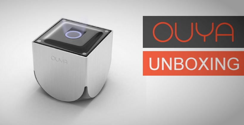 OUYA Android Konsole im ersten Unboxing