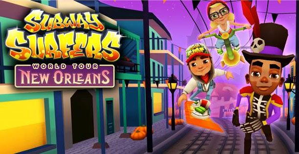 Subway Surfers: Halloween in New Orleans Update