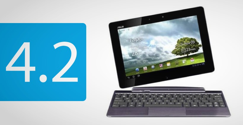 ASUS Transformer Pad Infinity TF700 bekommt Android 4.2 Update