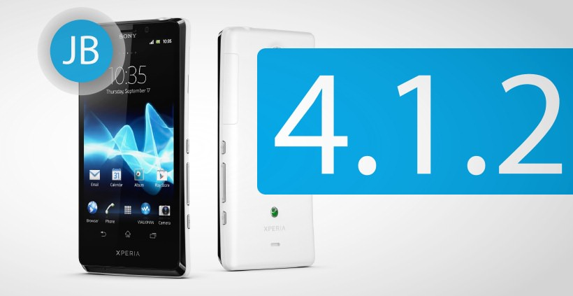 Sony Xperia T bekommt Android 4.1.2 Jelly Bean
