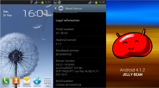 Galaxy Ace 2 Android 4.1.2