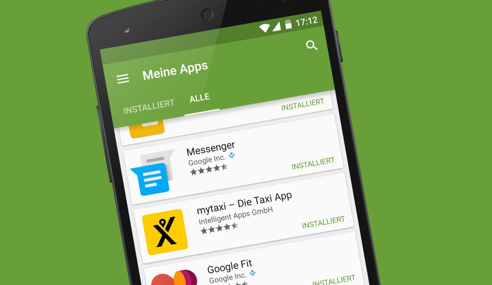 android neue apps