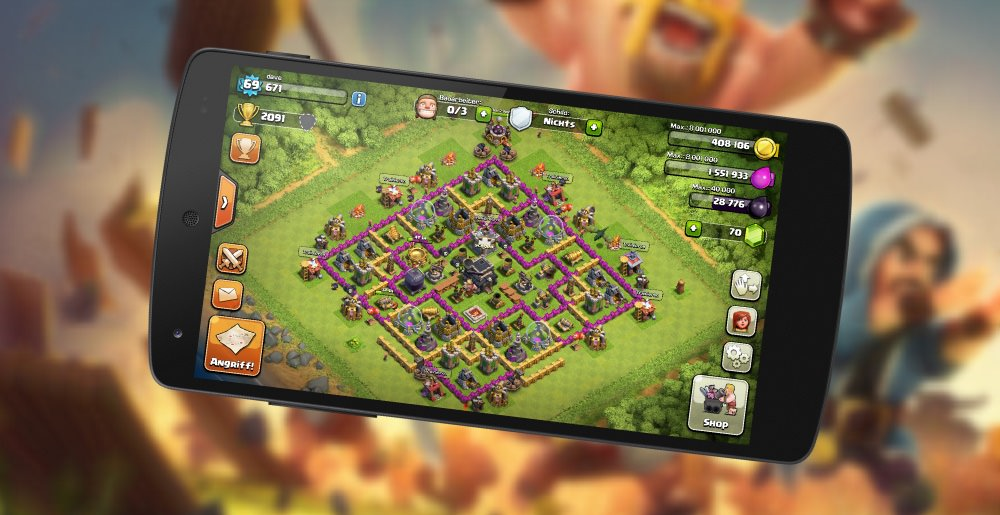 MyDorf: Clash of Clans - Rathaus Level 9 - Tipps!