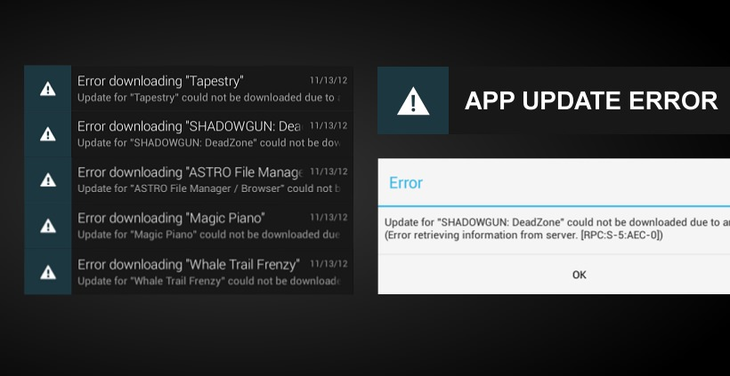 App Update Probleme unter Android 4.2 Jelly Bean