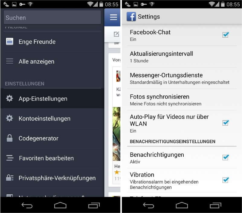 Facebook Auto-Play-Videos deaktivieren - Android