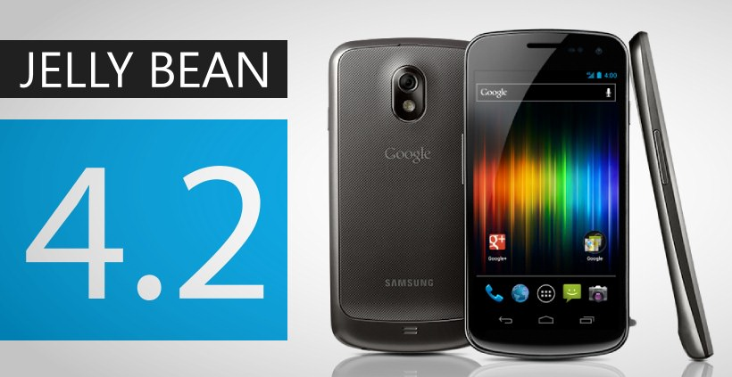 Galaxy Nexus bekommt nun auch in Europa Android 4.2 Jelly Bean