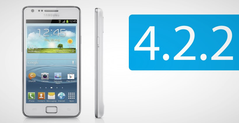 Samsung Galaxy S2 Plus: Android 4.2.2 Update [XXUBMG8]