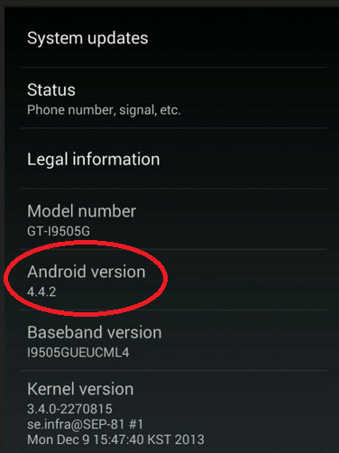 Galaxy S4 Google Edition erhält Android 4.4.2 Update