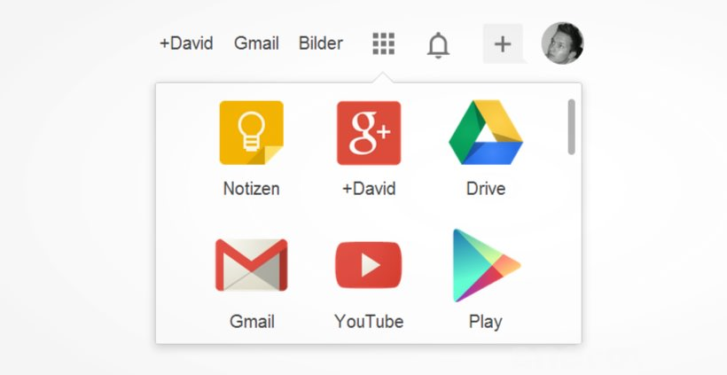 Apps in der Google Bar anordnen, Keep mit neuem Design & Namen