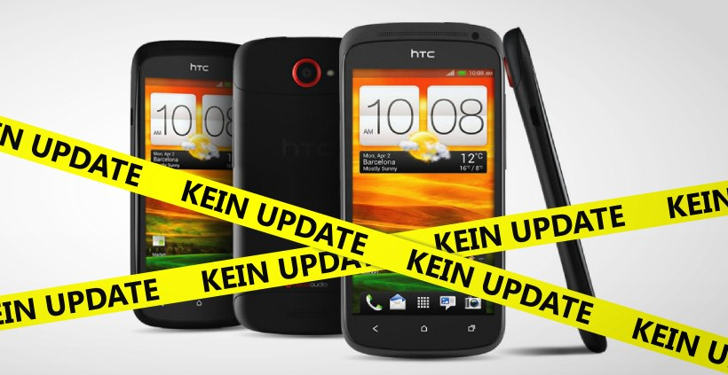 HTC One S bekommt kein Android 4.2.2
