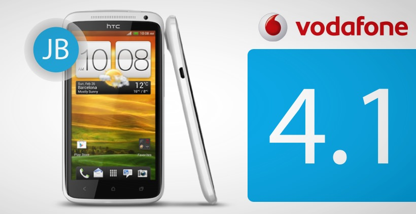 HTC One XL mit Vodafone Branding bekommt Android Jelly Bean Update
