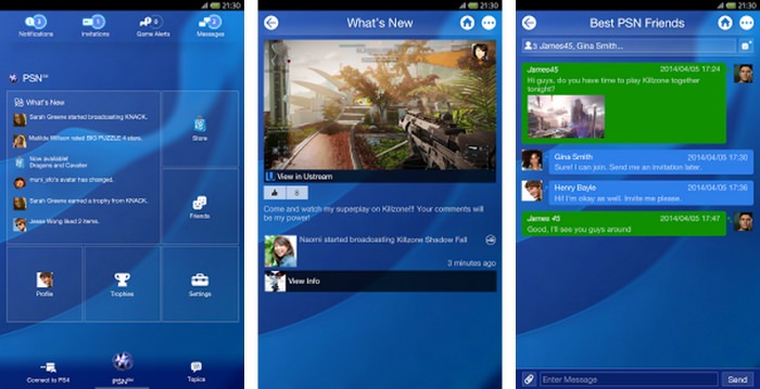 Playstation App jetzt Ready for PS4