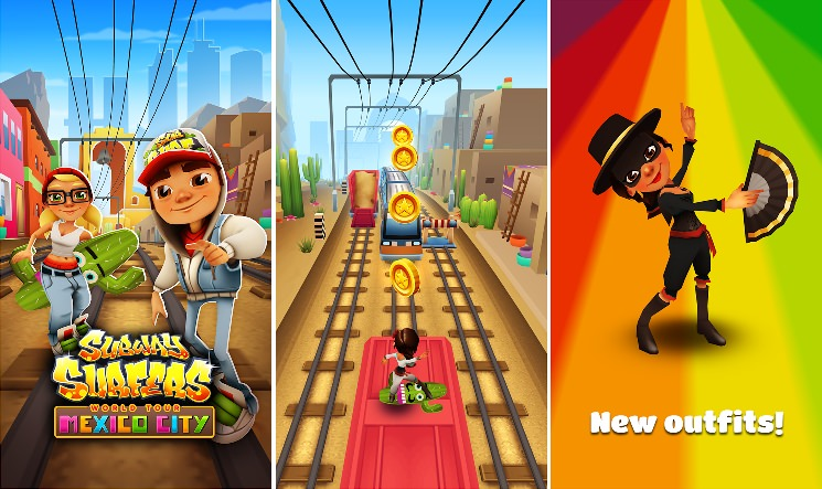 Subway Surfers: Ab nach Mexico City