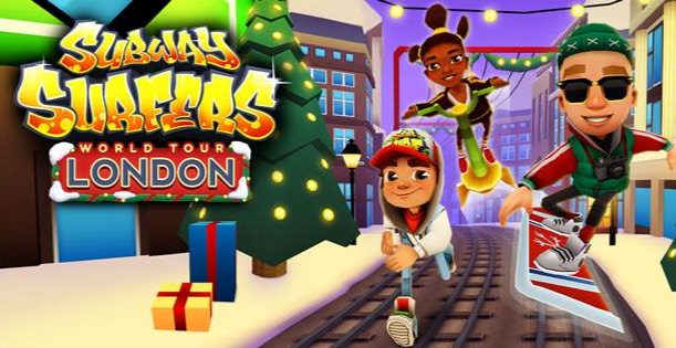 Subway Surfers: Im November Update gehts nach London - verfügbar!