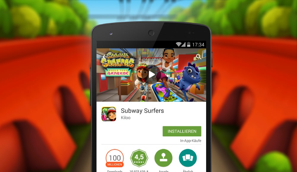 Subway Surfers: Bangkok Update ist da!