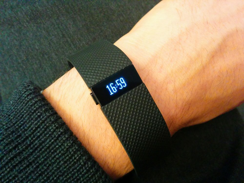 Fitbit Charge HR - Displayfarbe