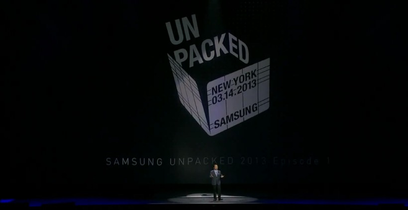 Galaxy S4 UnPacked 2013 in voller laenge anschauen
