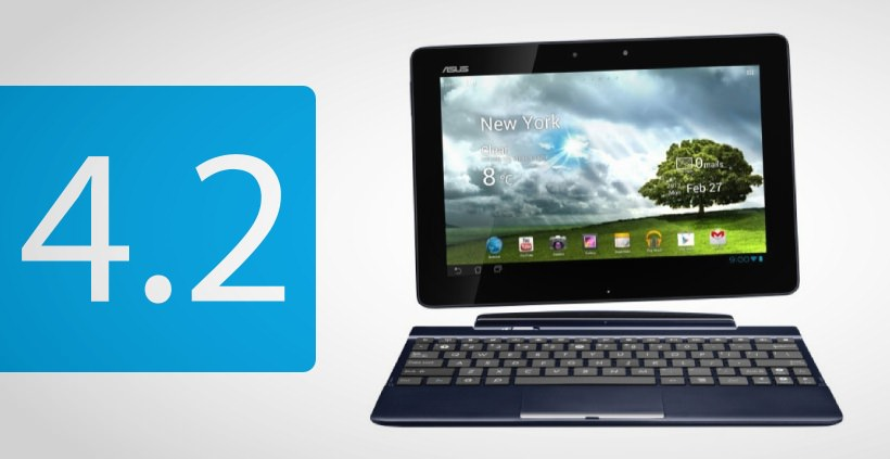 Asus Transformer Pad TF300 bekommt Android 4.2 Update