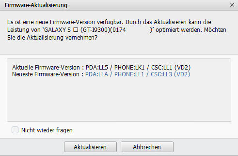 vodafone galaxy s3 update