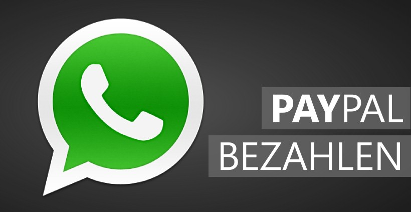 WhatsApp alternativ via PayPal bezahlen